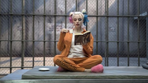 Harley Quinn en Suicide Squad, interpretada por Margot Robbie