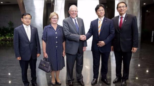 PPK finaliza este viernes su visita a China.