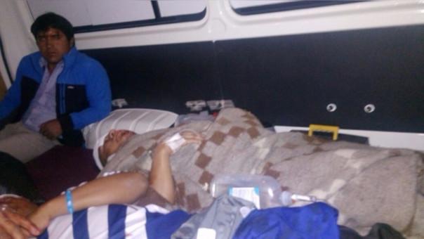 Otuzco: cinco heridos deja accidente vehicular