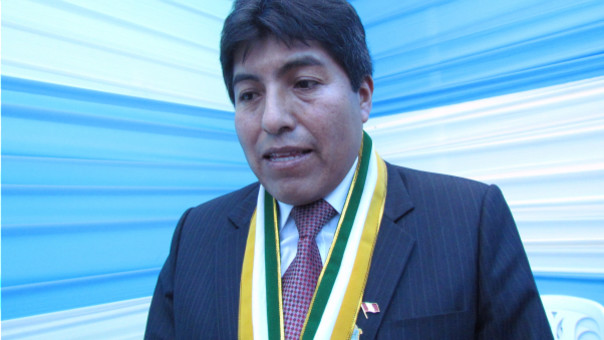 Iván Flores, hará algunas aclaraciones sobre proyecto de la represa Paltiture