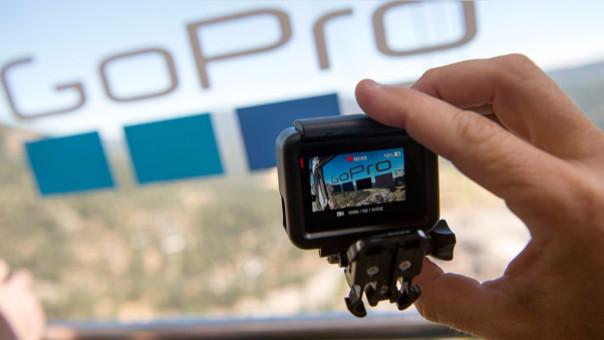 El modelo Hero5 Black tiene pantalla táctil.