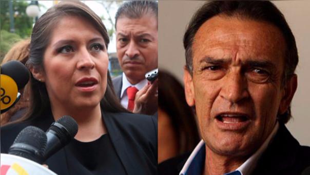 Héctor Becerril y Yeni Vilcatoma son parte de la indagación de la comisión de Ética.