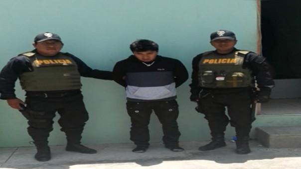Policía detiene presunto violador