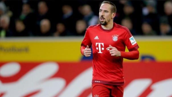 Frank Ribery llegó al Bayern Munich en la temporada 2007-2008 proveniente del Olympique de Marsella.