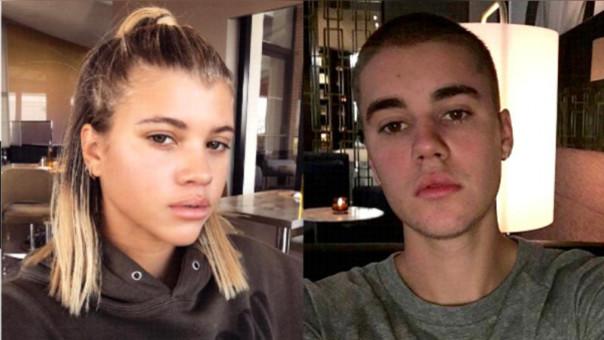 Sofía Richie y Justin Bieber