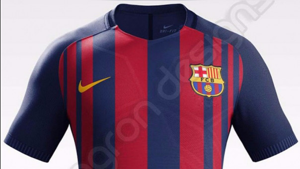 Barcelona  se filtró la que sería la nueva camiseta azulgrana  0fc004f7dbf