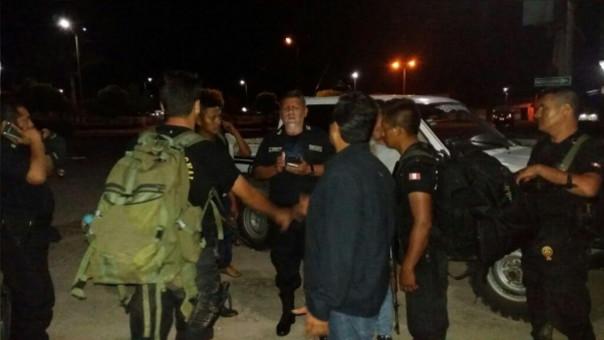 Liberan a policías y guardaparques que fueron retenidos por ronderos.