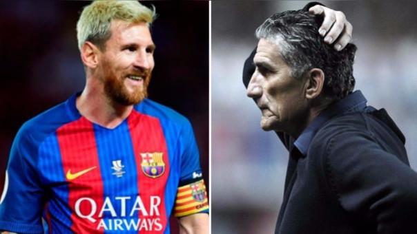 Edgardo Bauza molestó con la gente del Barcelona por caso Lionel Messi.