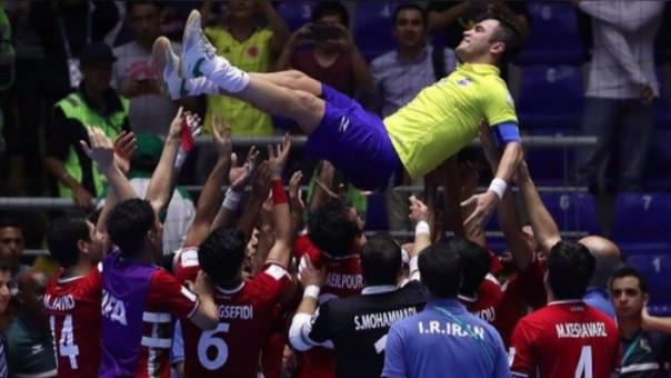 Falcao es considerado el mejor jugador de la historia del futsal.