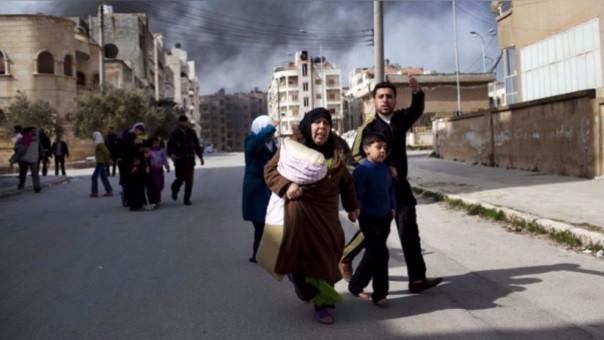 La guerra en Siria ha generado que miles de ciudadanos huyan y busquen refugio en países de Asia, Europa e incluso América