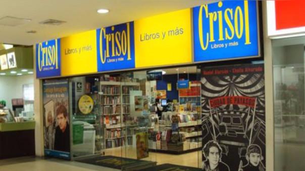 Crisol posee el 51% del mercado de librerías en el país.