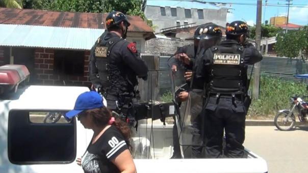 Policías Yurimaguas