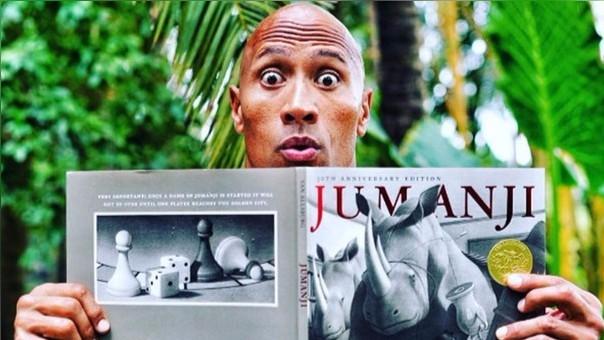 Dwayne 'La Roca' Johnson rendirá homenaje a Robin Williams en el remake de Jumanji.