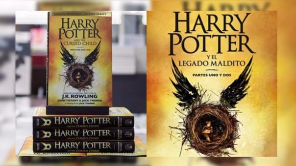 'Harry Potter y el niño maldito' en español iniciará su venta desde este 28 de setiembre.
