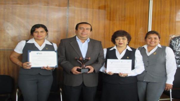 Premian a gerencia de salud de Chiclayo