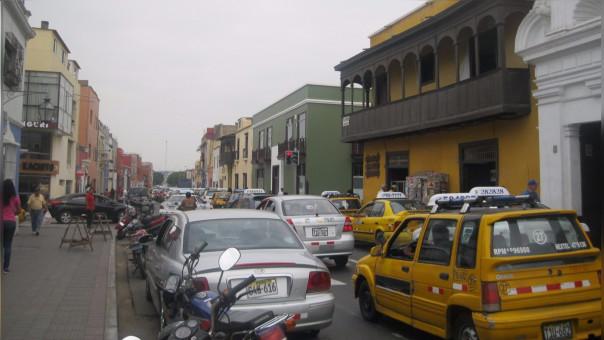 Trujillo: alarmante ruido en centro histórico