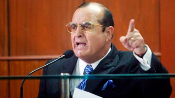 Vladimiro Montesinos escuchó la sentencia en la Base Naval del Callao