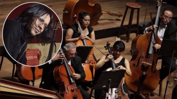 La Orquesta Sinfónica del Perú y Mac Salvador se unen para difundir la música andina.