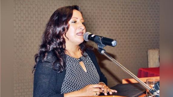 Consejera Regional Lilian Cruzado