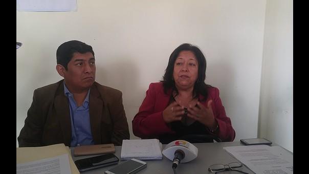 Congresista María Elena Foronda