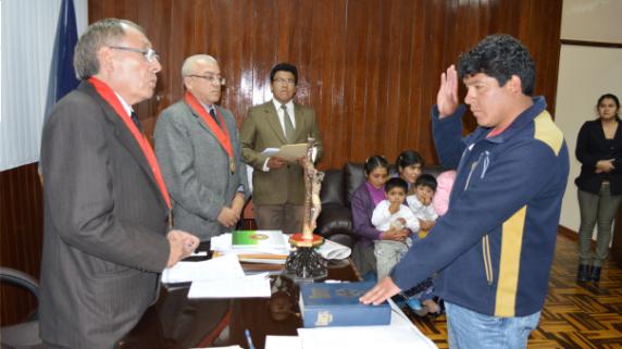 Presidente de la Corte Superior de Justicia de Cajamarca, Feliciano Vásquez Molocho