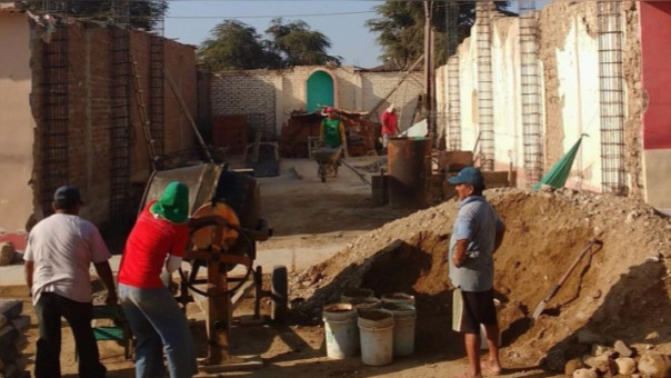 Construyen capilla