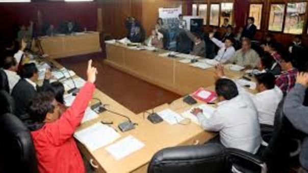 Consejo Regiona de Áncash recjazó reconsideración.