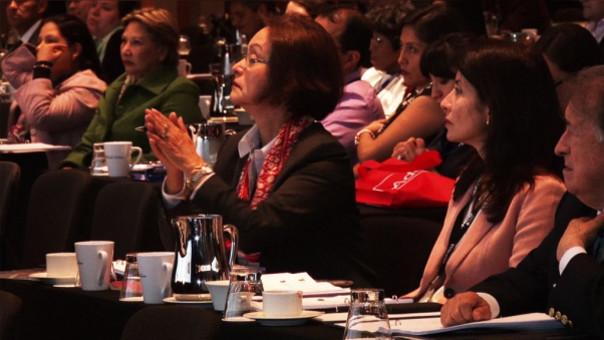 Solo el 15% de empresas peruanas tiene a mujeres en la gerencia general, se informó durante el 14 Congreso de Gestión de Personas.