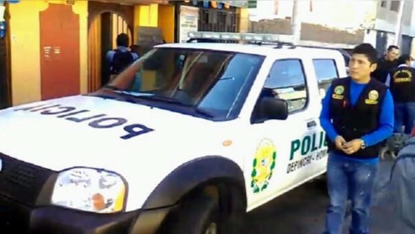 Policía intervención