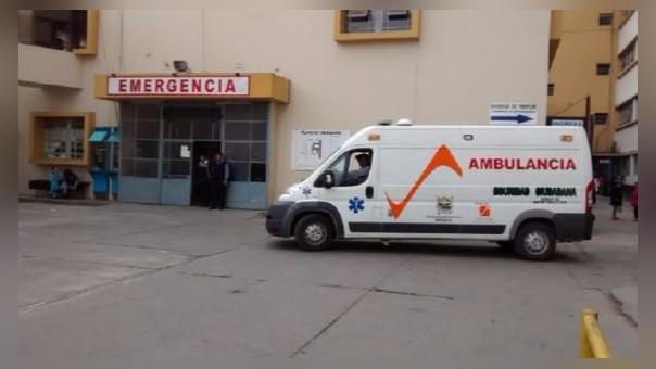 Niños heridos en Ayacucho.