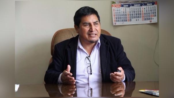 Ing. Teodoro Palomino Ríos, Alcalde distrital de Baños del Inca