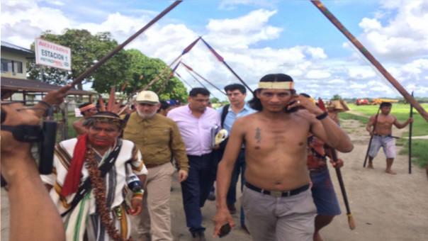 La comisión de alto nivel de la PCM fue recibida en un clima de cordialidad por los nativos.