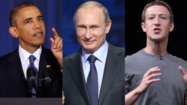 Obama, Putin y Zuckerberg visitarán Perú en noviembre por APEC 2016.