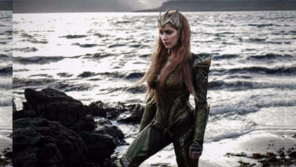 Justice League: primera fotografía de Amber Heard en la película