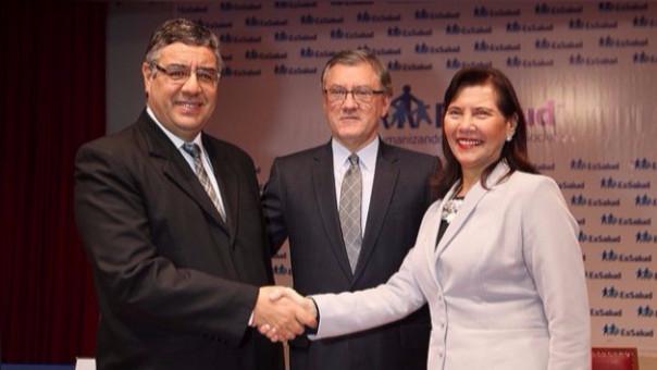 Del Castillo fue nombrado Presidente Ejecutivo de EsSalud el pasado 1 de septiembre
