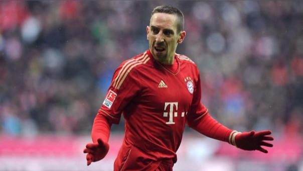 Ribery juega en Bayern Munich desde el 2007.