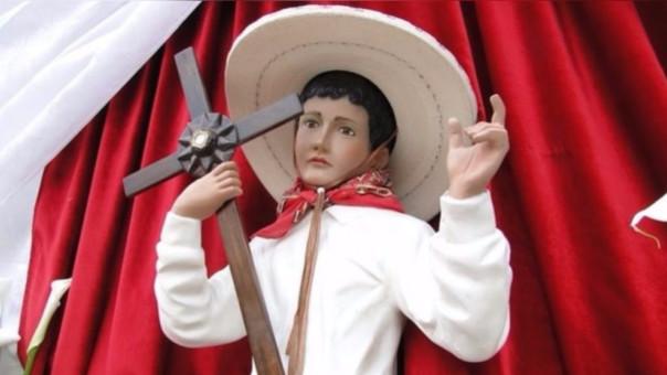 Las imágenes de 'Joselito' abundan en su natal Sahuyoyo, Michoacán (México)