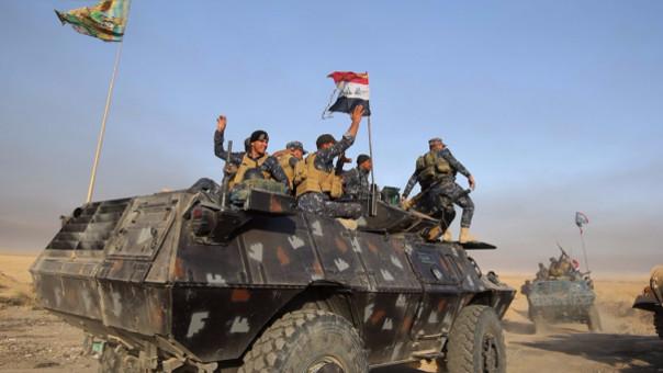 Las fuerzas iraquíes fueron humilladas en 2014 cuando perdieron Mosul ante el Estado Islámico.