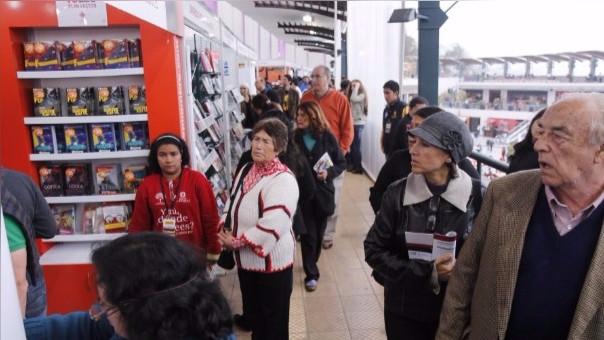 Todo quedó listo para la inauguración de la Feria de Libro Ricardo Palma en Miraflores.