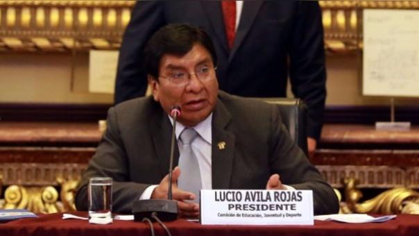 Lucio Ávila no será investigado por la comisión de Ética del Congreso.