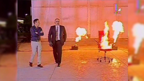 En la última edición del programa, Beto Ortiz incendió el sillón rojo.