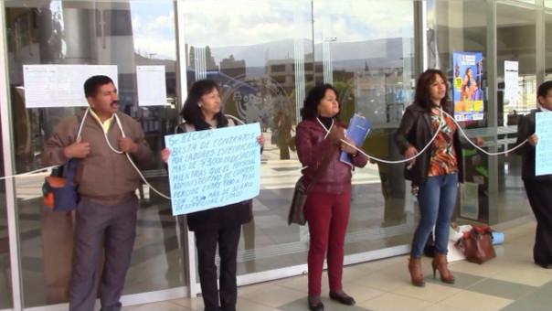 Protesta UNCP