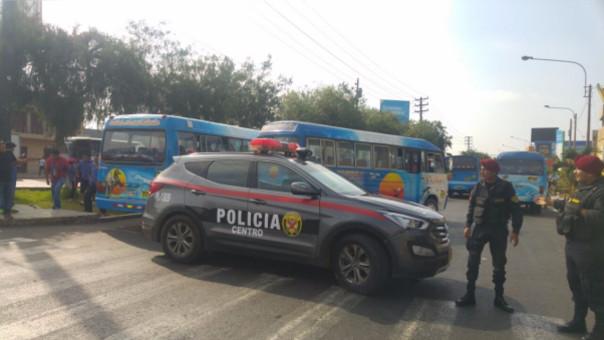 Trujillo: escolar herido y tres detenidos dejó paro de transportistas