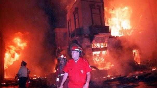 El incendio de Mesa Redonda es la que más muerte causó en las últimas décadas.