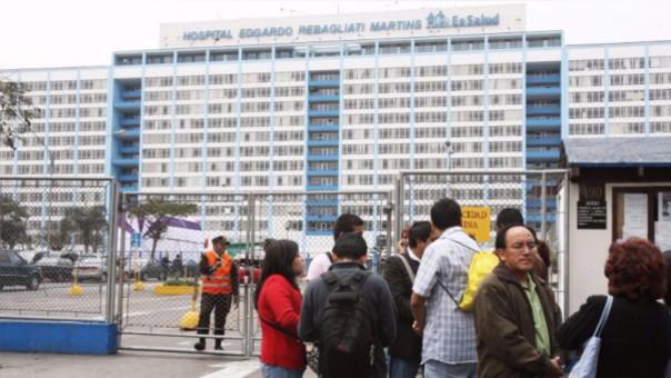 El Edgardo Rebagliati Martins es uno de los hospitales más importantes de EsSalud en Lima.
