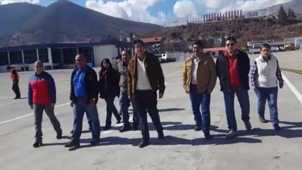 Comisión de alto nivel llegó a Cusco.