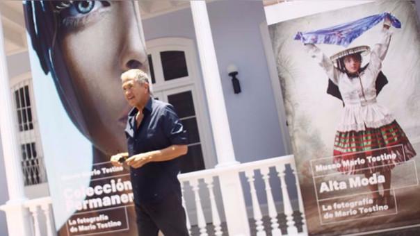 Mario Testino inaugurará el primer