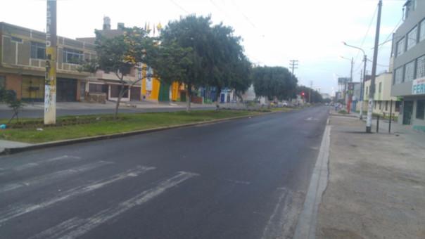 Trujillo: transportistas acatan paro en un 75%