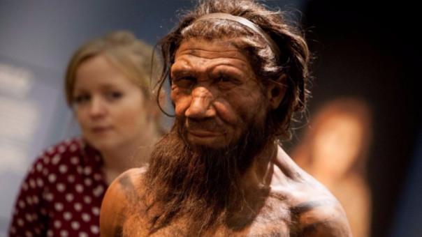 Hombre de Neandertal, responsable de la transmisión del virus del papiloma humano.