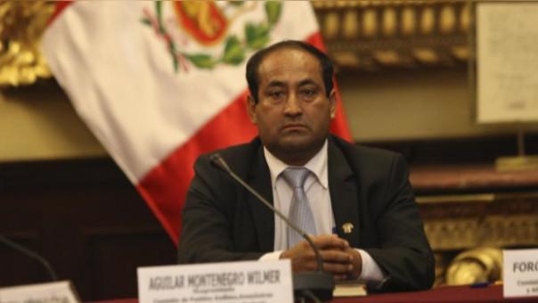 Congresista Wilmer Aguilar asegura que fue afiliado al SIS antes de ser legislador